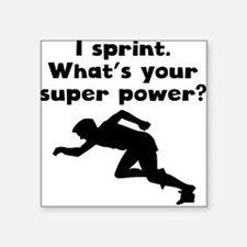 I Sprint Super Power Sticker