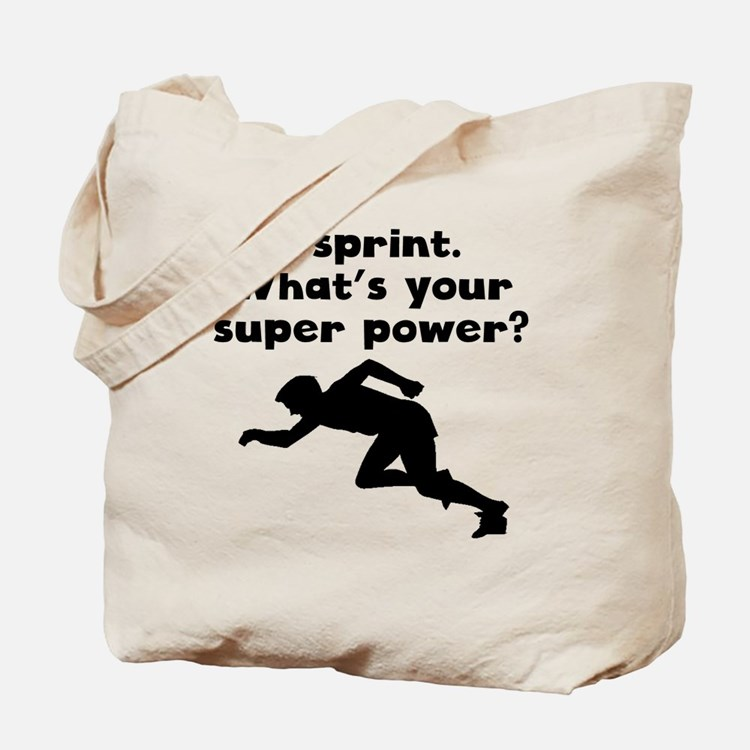 I Sprint Super Power Tote Bag