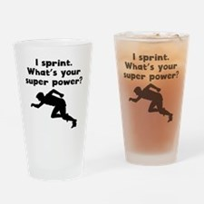 I Sprint Super Power Drinking Glass