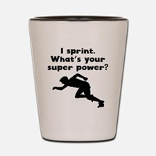 I Sprint Super Power Shot Glass