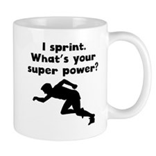 I Sprint Super Power Mugs