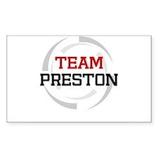 Preston Rectangle Decal