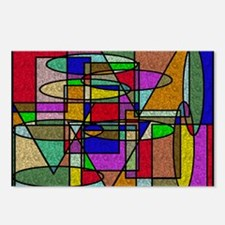 Unique Abstract art Postcards (Package of 8)