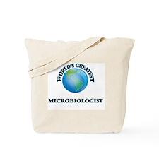 Cute Microbiologist Tote Bag