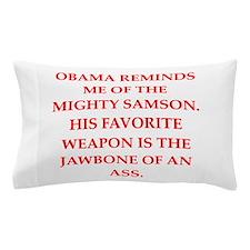 anti obama Pillow Case