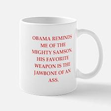 anti obama Mugs