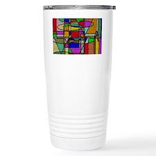 Unique Abstract art Travel Mug