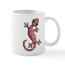 Red White Paisley Mug