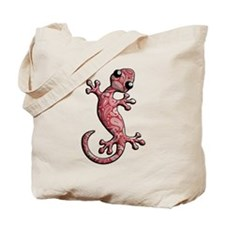 Red White Paisley Tote Bag