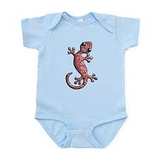 Red White Paisley Infant Bodysuit