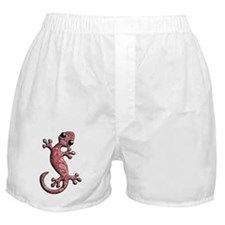 Red White Paisley Boxer Shorts