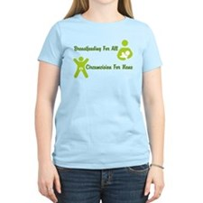 Breastfeeding and Circumcison T-Shirt