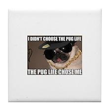 Unique Pug Tile Coaster