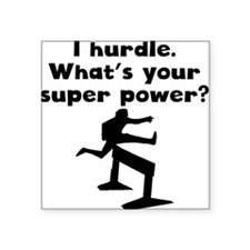 I Hurdle Super Power Sticker