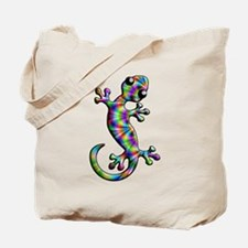 Psychedelic Rainbow Paisley Tote Bag