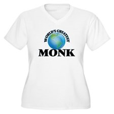 World's Greatest Monk Plus Size T-Shirt