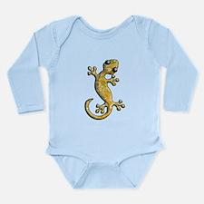 Yellow Green Paisley Long Sleeve Infant Bodysuit