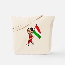 Hungary Girl Tote Bag