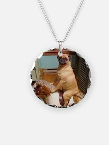 Cute Pugs Necklace