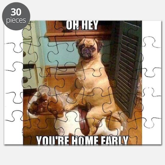 Unique Pugs Puzzle