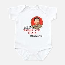 LOL Kim Jong Il Infant Bodysuit