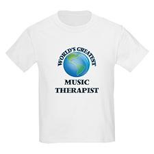 World's Greatest Music Therapist T-Shirt