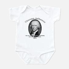 Thomas Jefferson 15 Infant Bodysuit