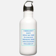 liberal arts major Water Bottle
