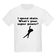 I Speed Skate Super Power T-Shirt