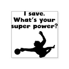 I Save Super Power Sticker