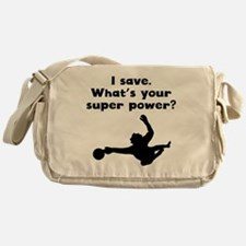 I Save Super Power Messenger Bag