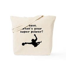 I Save Super Power Tote Bag