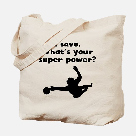 I Save Super Power Tote Bag