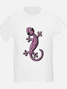 Purple White Paisley T-Shirt