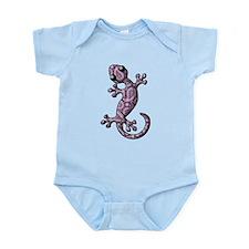 Purple White Paisley Infant Bodysuit