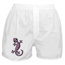 Purple White Paisley Boxer Shorts