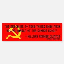 Democratic Republican Political Bumper Bumper Bumper Sticker