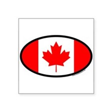 """Cute Canada Square Sticker 3"""" x 3"""""""