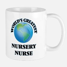 World's Greatest Nursery Nurse Mugs