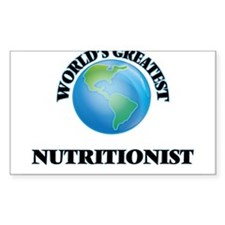 World's Greatest Nutritionist Decal