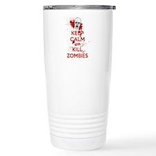 Cute Zombie calm Travel Mug