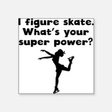 I Figure Skate Super Power Sticker