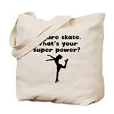 Figure skate superpower Totes & Shopping Bags