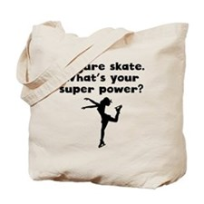 I Figure Skate Super Power Tote Bag