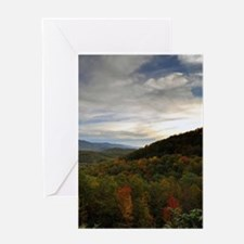 Late Autumn Evening Greeting Cards