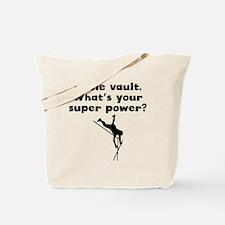 I Pole Vault Super Power Tote Bag