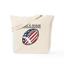 College Football Tote Bag