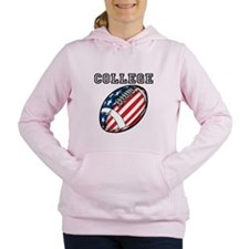 College Football Women's Hooded Sweatshirt
