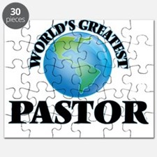 Cute Worlds greatest pastor Puzzle