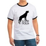 Good Dogs Ringer T